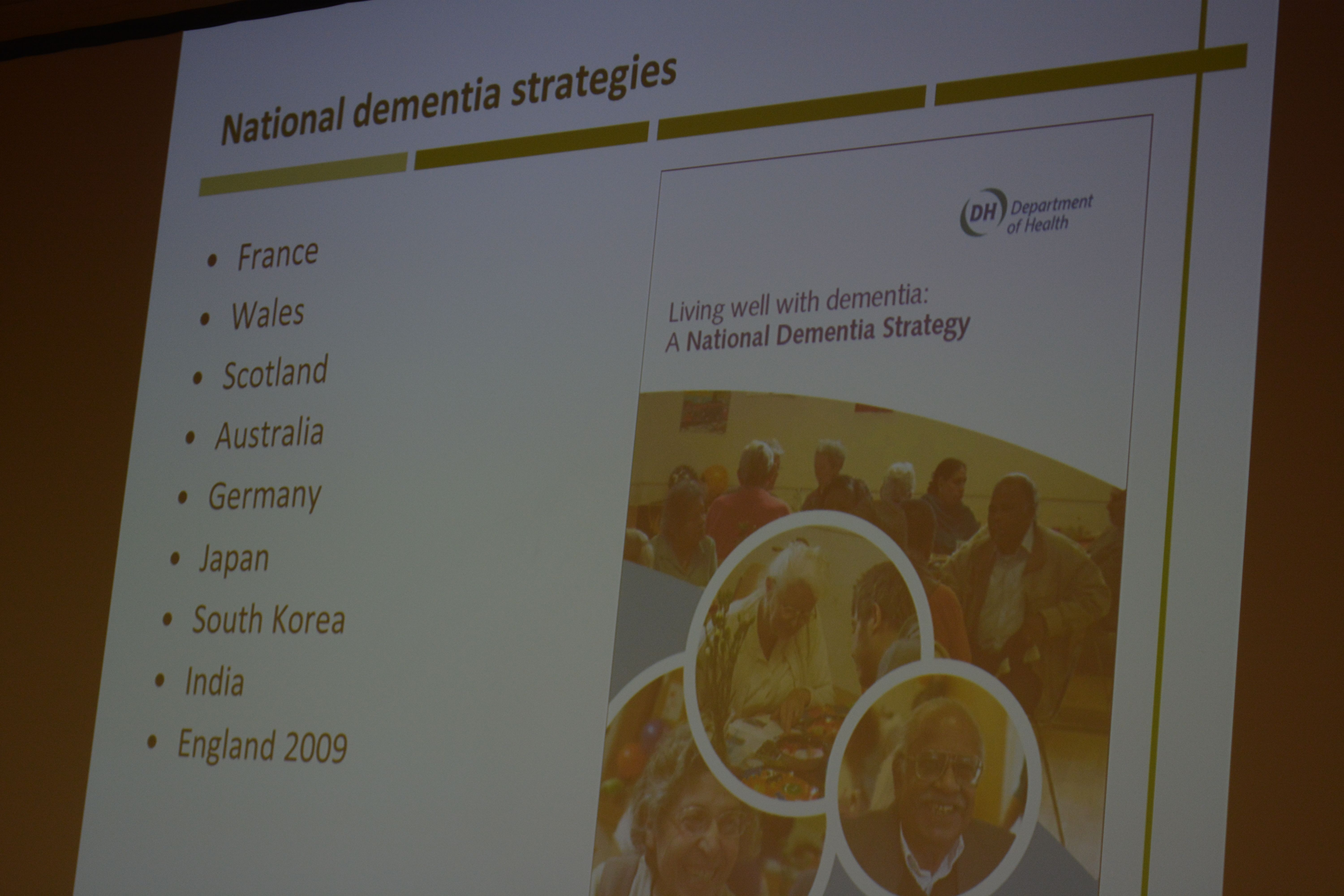 SUBE4 National dementia strategy