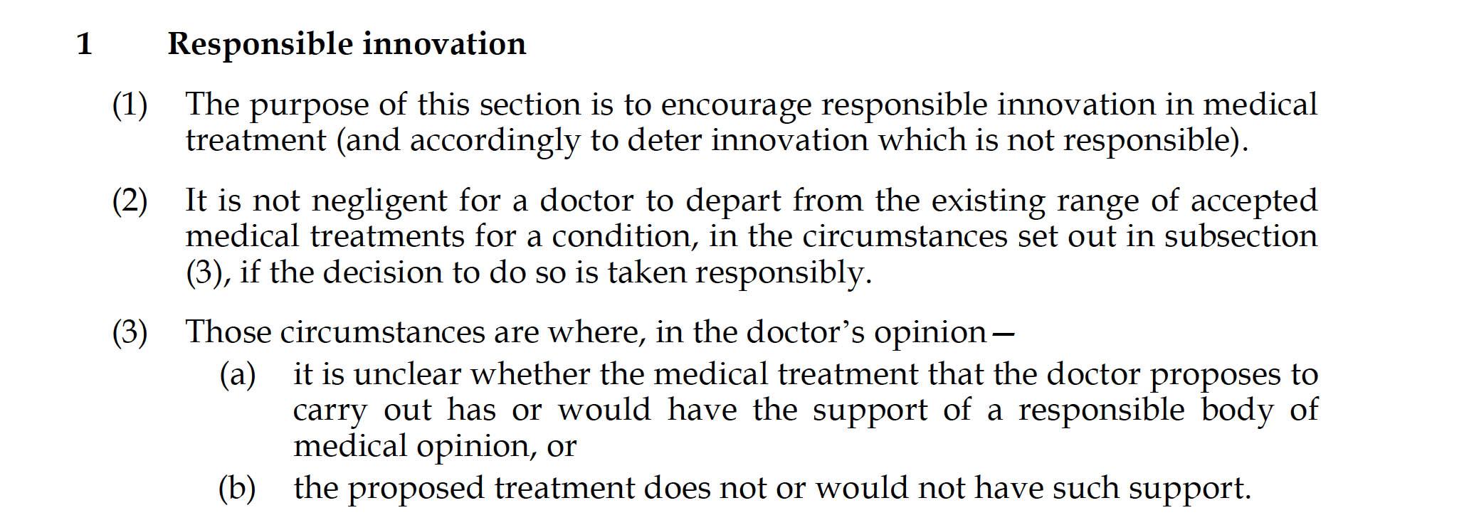 statutory underpinning