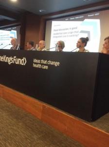 King's Fund panel